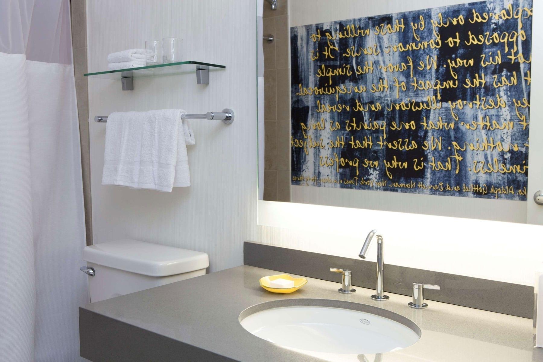 Bathroom Of Fifty Hotel Studio Suite