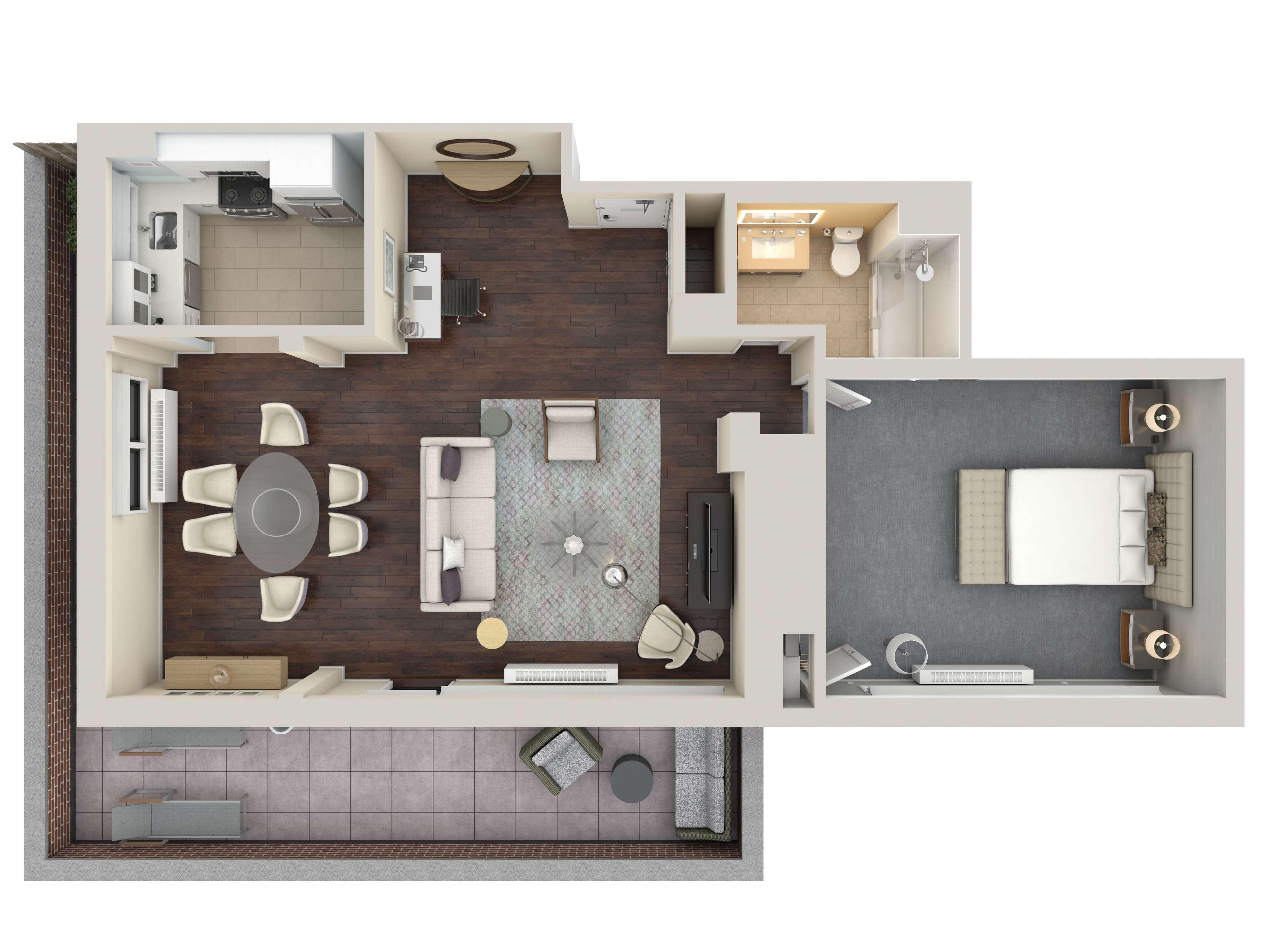3-D Penthouse
